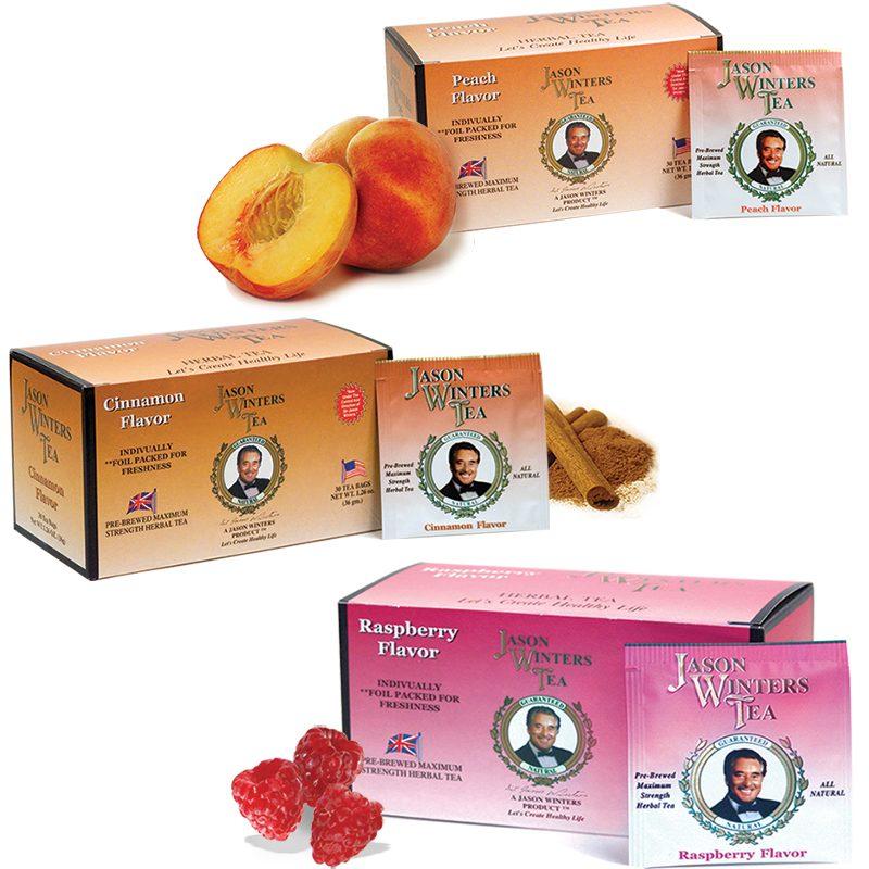Sir Jason Winters Flavored Tea Bags
