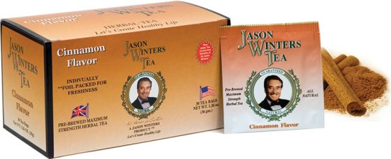 Sir Jason Winters Flavored Tea Bags Cinnamon
