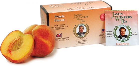 Sir Jason Winters Flavored Tea Bags - Peach
