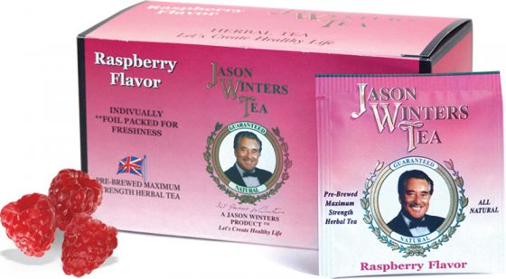 Sir Jason Winters Flavored Tea Bags - Raspberry