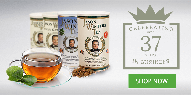 Sir Jason Winters Herbal Teas and Supplements   Official Website