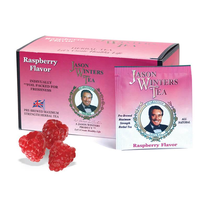 Raspberry Flavored Tea Bags