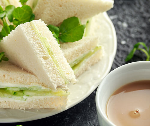Making Afternoon Tea Something Special - Cucumber Sandwiches