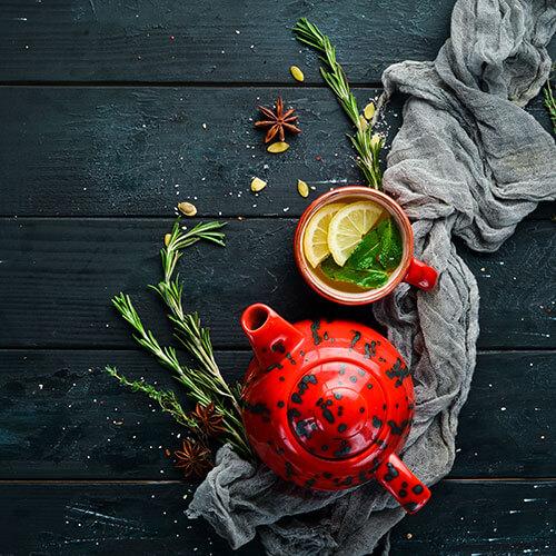Tea Cup And Tea Mug